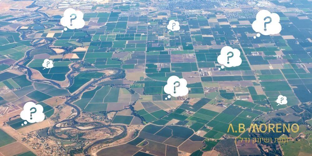 א.ב מוראנו למי מתאימה השקעה בקרקע חקלאית