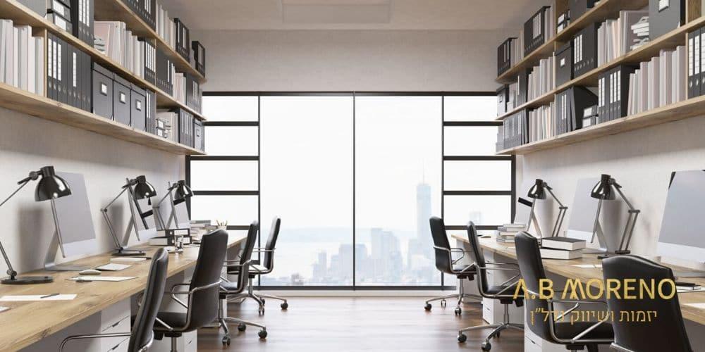 רכישת משרדים להשקעה א.ב מוראנו קרקעות למכירה